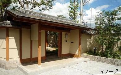 京都の豪邸