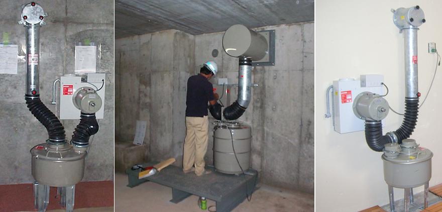 スイス製 換気装置(空気清浄機)